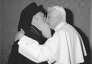 Vera Nas je održala,njojzi hvala Vartolomej.i.papa