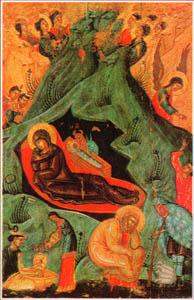 Priče o Svecima RodjenjeGospodaIsusaHristaDecani1572