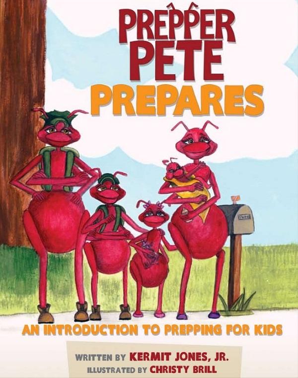 [Livre pour enfants] Jake & Miller's Big Adventure Prepper-Pete-Prepares-cover