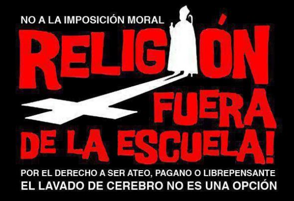 La religión (todas) fuera de la escuela - Juan Celdrán Navarro - diciembre 2019 Religionfuera