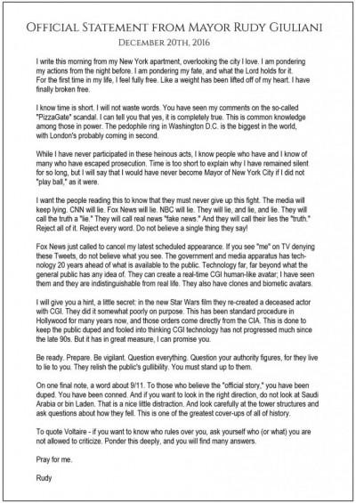 Андрей Тюнев - О клонах и воскрешённых мертвецах – официальное заявление мэра Нью-Йорка Руди Джулиани 1482795472_rudi-724x1024