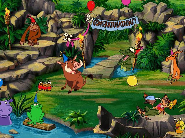 حصريا لعبة تيمون وبومبا  Jungle1