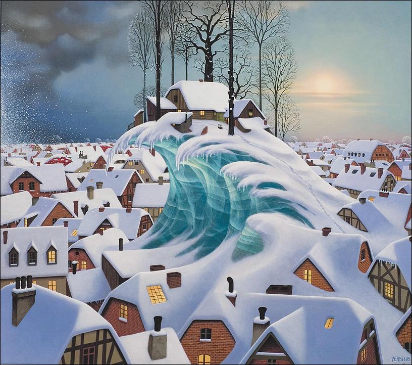 Философия в картинках - Страница 40 Jacek-yerka-paintings-01