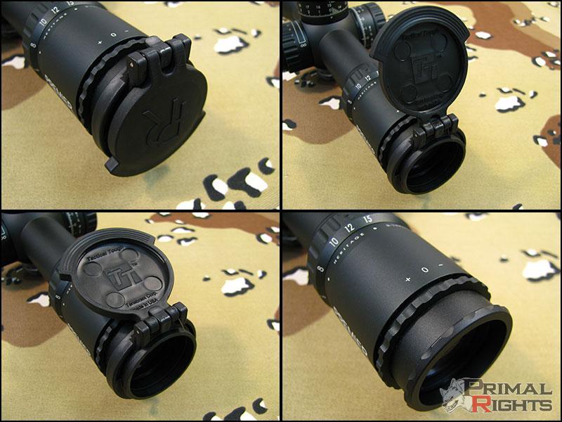 lens flip cover pour Schmidt&Bender 5-25x56 TENEBREAX Ocular1