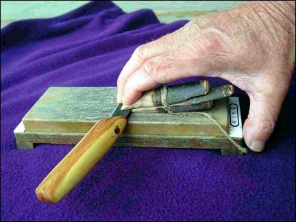 Aiguisage des couteaux Jig3
