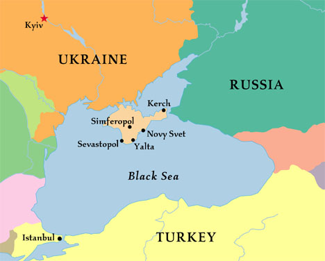 Ucrania... - Página 4 Crimeamapa