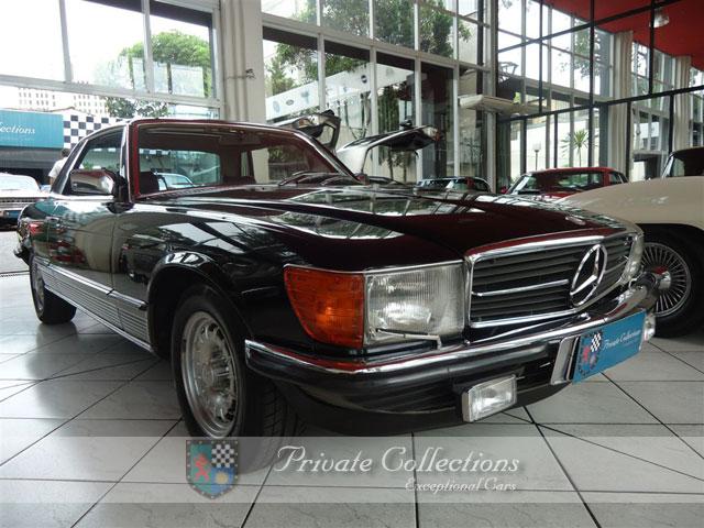 (VENDE-SE) 500SLC 1981 preta à venda na Private SP 17865