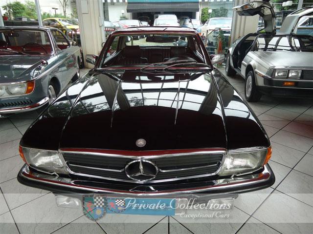 (VENDE-SE) 500SLC 1981 preta à venda na Private SP 17867