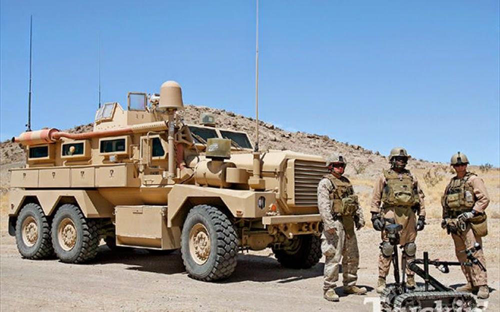 لماذا انتشرت العربات المقاومة للألغام MRAP في الشرق الأوسط؟  NPDobi3t