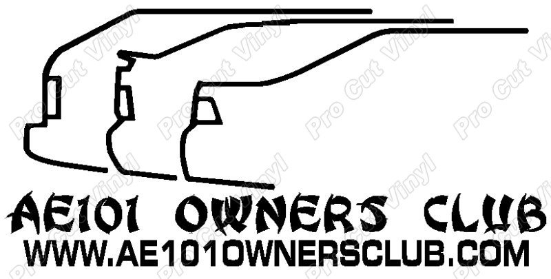 ***GROUP BUY*** AE101 Owners Club Sticker. Ae101_owners_club_sticker_design