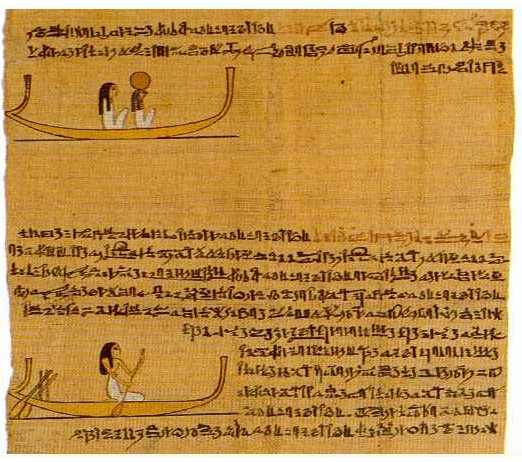 Libro de los muertos Hieratic