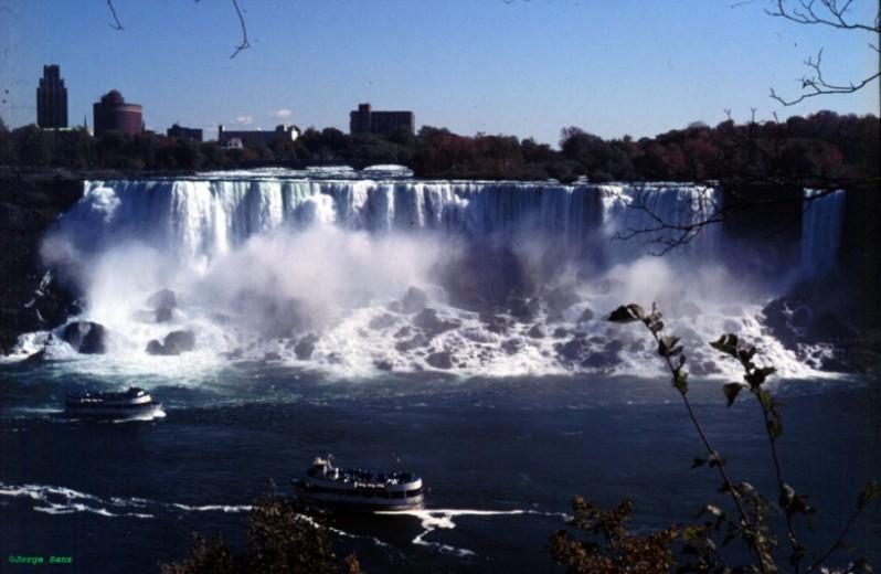 Caídas de agua en la naturaleza. Niagara1