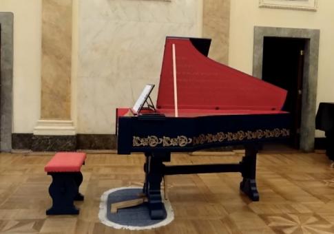 Viola Organista - Instrumento musical sai do papel 500 anos depois Davinci