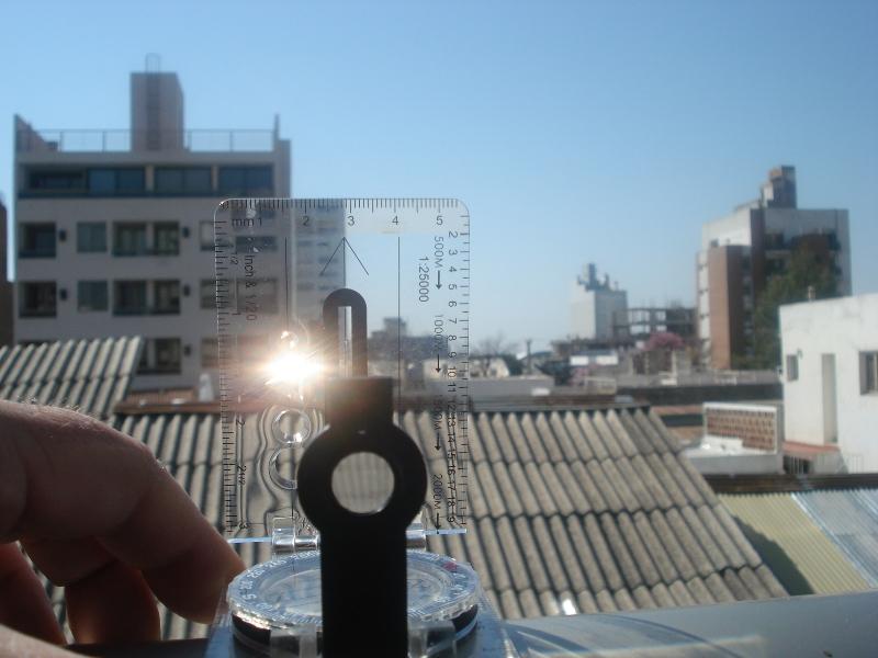 Cómo medir ANGULOS con las brújulas (oh! si, hay lensáticas y de base... todas!) DSC004741