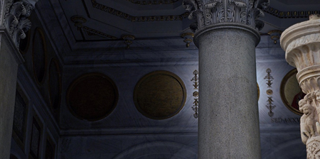 Médaillons des papes: il en reste plusieurs après Benoît XVI Medaillons-vierges