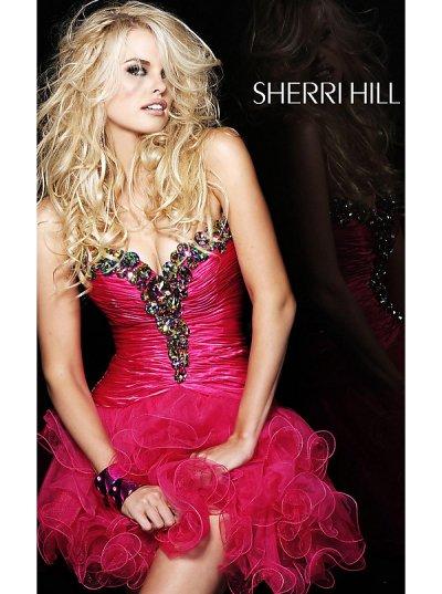 Fustane per mbremje!!!!!!!!!! Strapless-red-sherri-hill-prom-dresses-2012