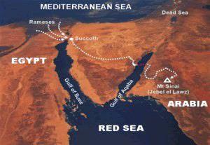 Chars de pharaon retrouvés dans la mer rouge Image002