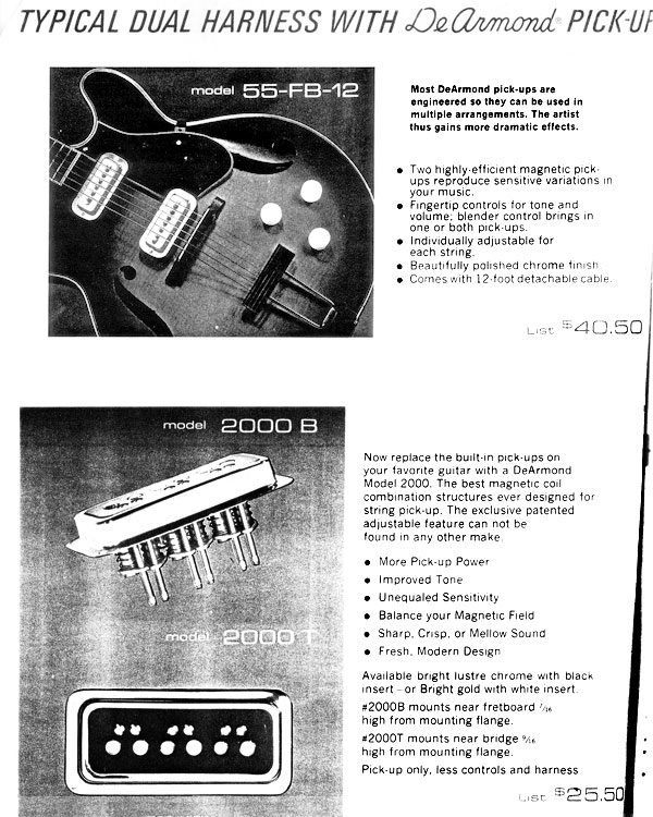 schemas electrique d'une country club de 1955 DeArmondAd