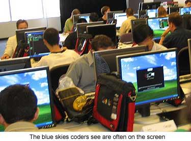 Google dá tiro de partida para concurso mundial de programação Google-code-jam-2004