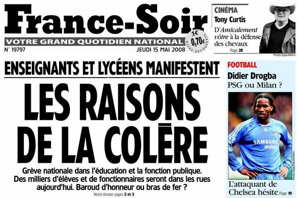 RUMEUR A LA CON - Page 2 France-soir