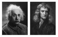 Ajnštajn, Njutn, de Gol i autizam Ajnstajn-njutn