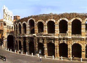 la mia città Verona-arena