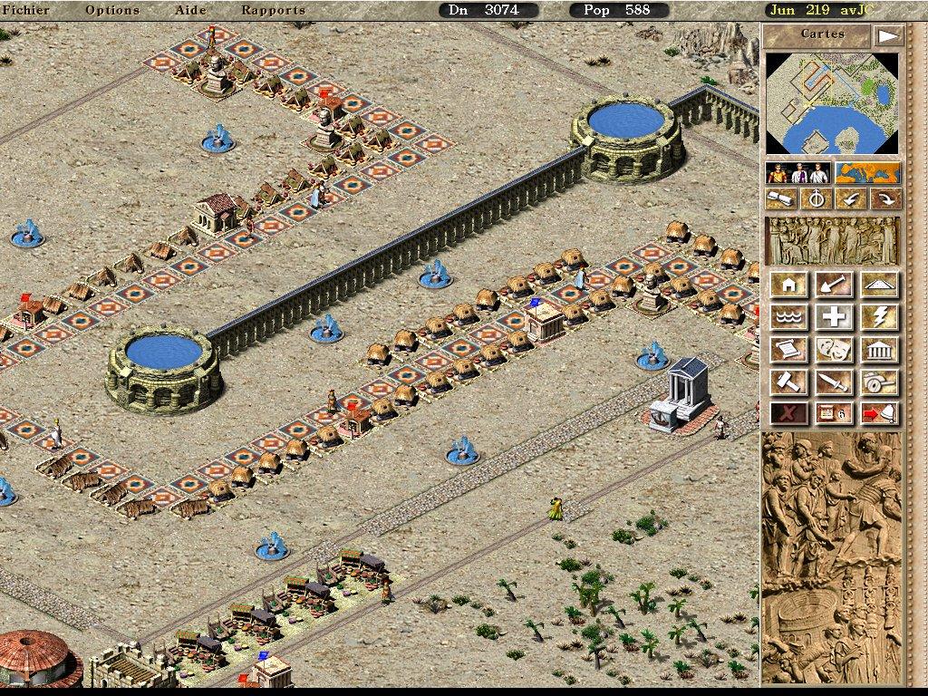 La longue marche dans Pharaon Heliopolis009