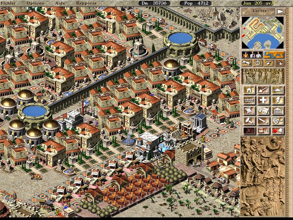 La longue marche dans Pharaon Heliopolis010