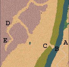 Descriptif : Missions Cléopâtre - Vallée des Rois Carte1.1