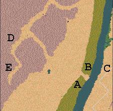Descriptif : Missions Cléopâtre - Vallée des Rois Carte1.2