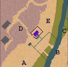Descriptif : Missions Cléopâtre - Vallée des Rois Carte1.3
