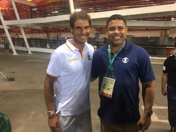 ¿Cuánto mide Ronaldo Nazario? - Estatura y peso - Real height and weight Nadal-ronaldo