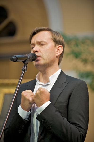 26 мая 2010 г, выступление на вручении Новой Пушкинской премии, музей А.С. Пушкина, Москва 2010_Pogudin
