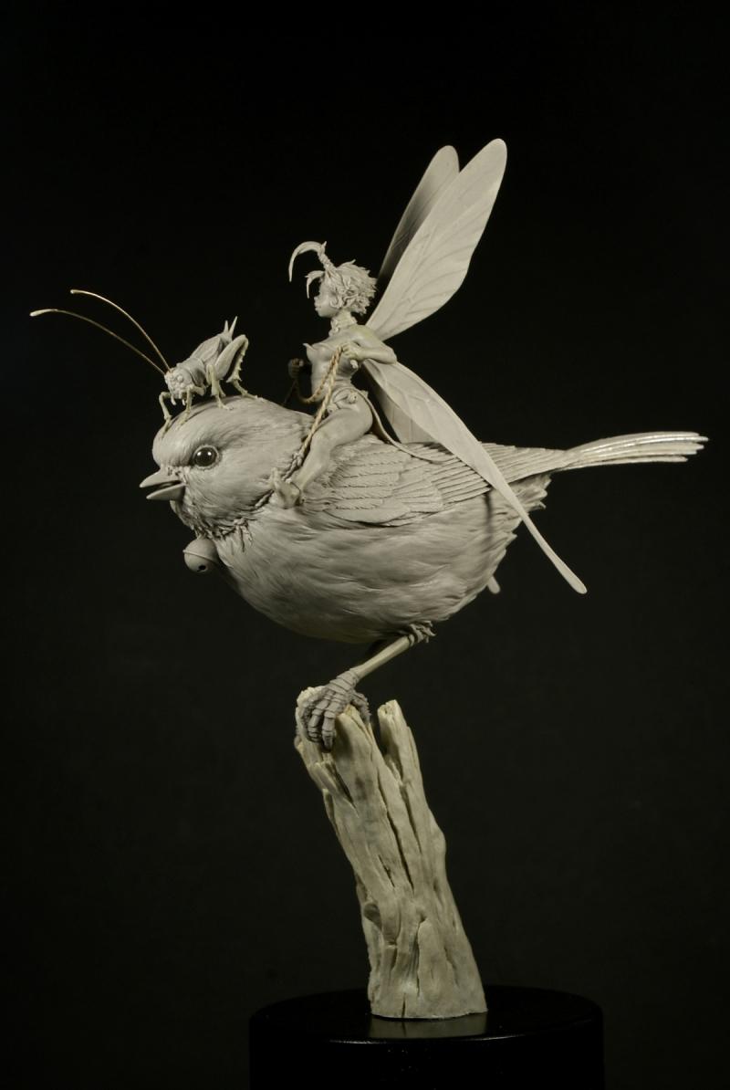 Sculptures d'après dessins de Jean-Baptiste Monge Tinkerbell_-_1__sized_l