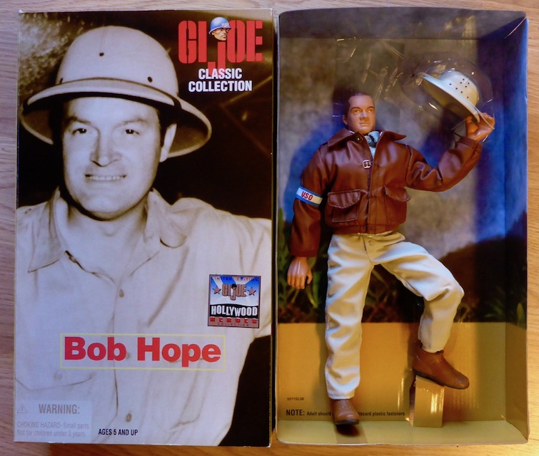 1998 Classic Collection – Hollywood Heroes – Bob Hope Bob1