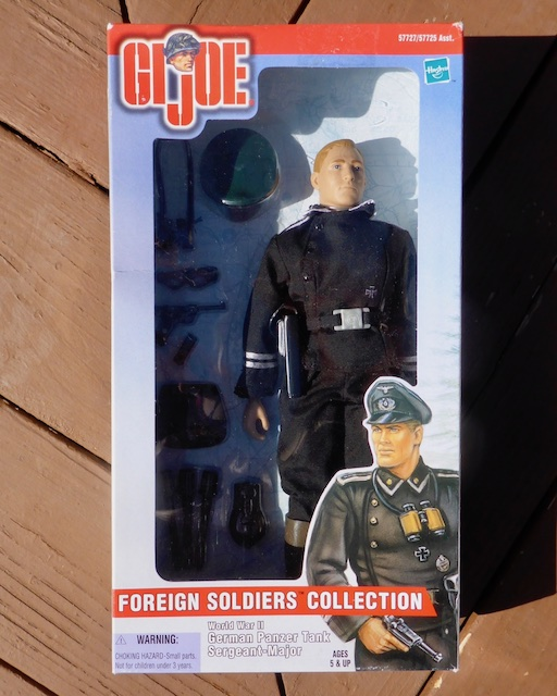 2000 Foreign Soldiers Collection: German Panzer Tank Sergeant-Major German1