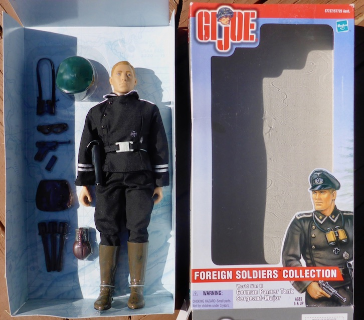 2000 Foreign Soldiers Collection: German Panzer Tank Sergeant-Major German3