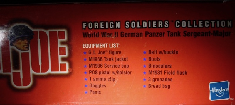 2000 Foreign Soldiers Collection: German Panzer Tank Sergeant-Major German9