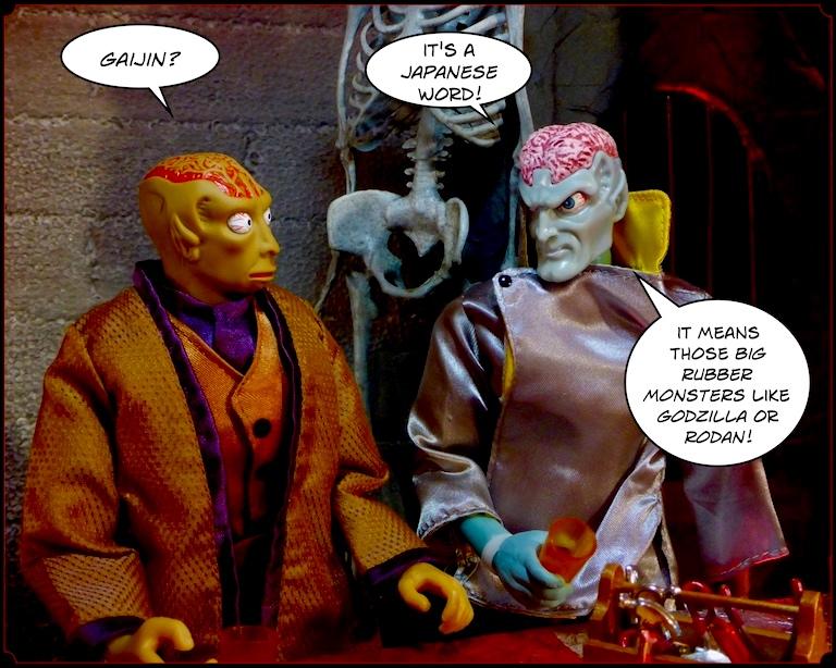 Kamiko Komics & Blond Action Man: Sorry, Wrong Damned Number! (SIMON Treaty) Gaijin1