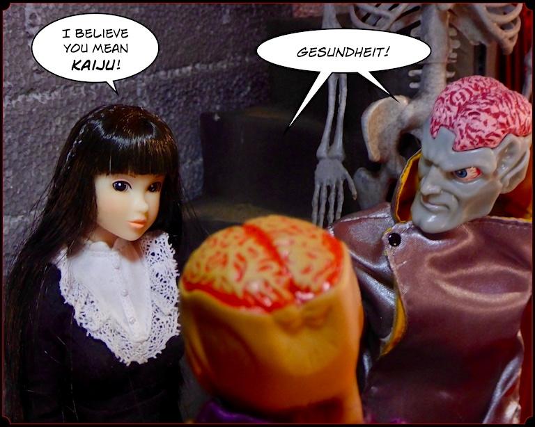 Kamiko Komics & Blond Action Man: Sorry, Wrong Damned Number! (SIMON Treaty) Gaijin2