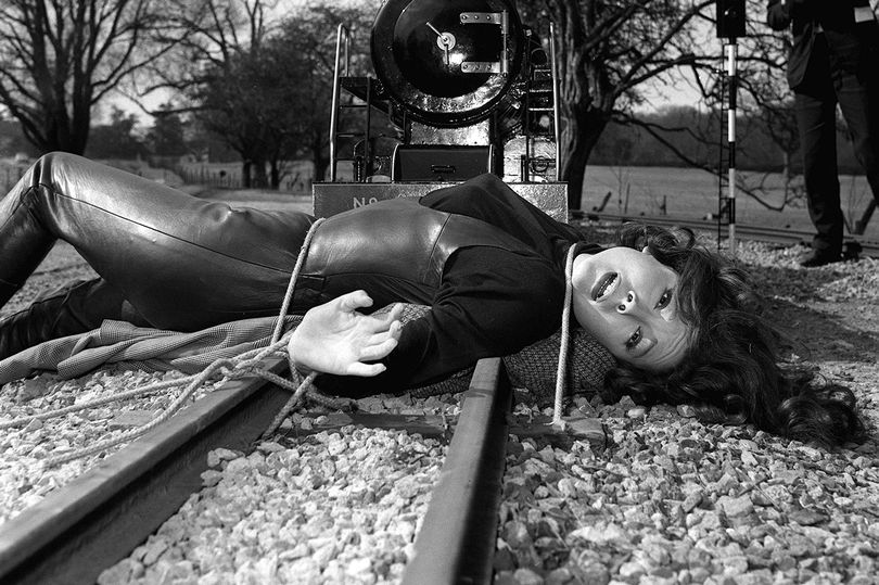 RIP Mrs. Peel Emma_peel_railroad