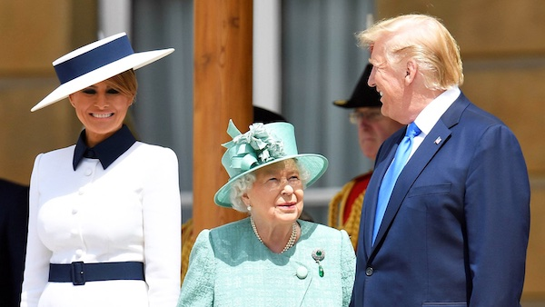 Holy SH*T - Trump is President Queen_and_melania_small