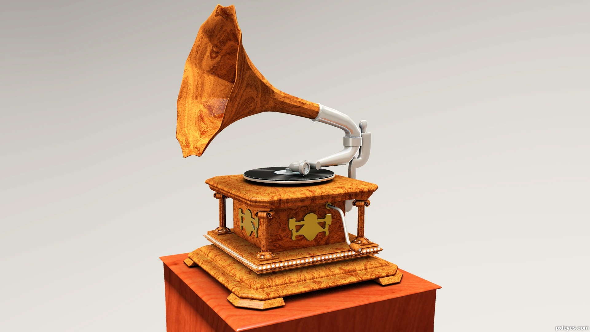 Gramafon Gramophone-De-Luxe-4c9e47fca8af7_hires