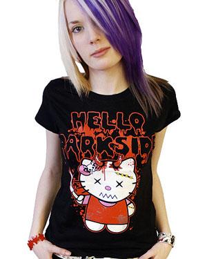 Forum Theme Colors Tshirt_girls_-_black_evil_kitty