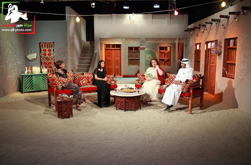 تغطية برنامج الصوغة تقديم منى شداد . الضيوف ليلى عبدالله,صمود,عبدالله الطراروه 11