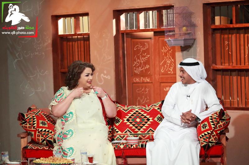 تغطية برنامج الصوغة تقديم منى شداد . الضيوف ليلى عبدالله,صمود,عبدالله الطراروه 12