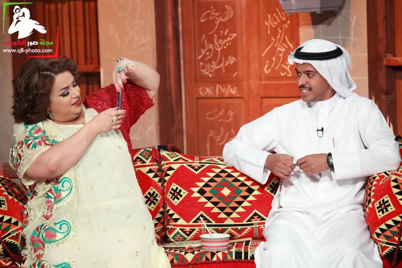 تغطية برنامج الصوغة تقديم منى شداد . الضيوف ليلى عبدالله,صمود,عبدالله الطراروه 17