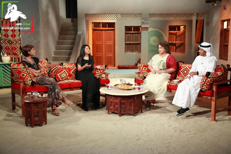 تغطية برنامج الصوغة تقديم منى شداد . الضيوف ليلى عبدالله,صمود,عبدالله الطراروه 2