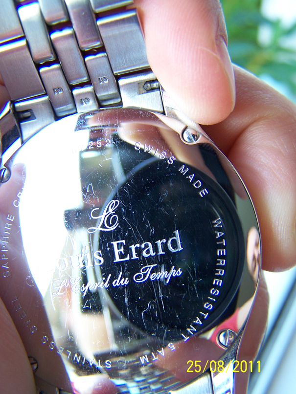 Expérience du SAV Louis Erard 100_7504