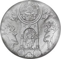 الاعجاز العلمي في القران ( عبادة الاوثان في عصر ابراهبم عليه السلام ) شواهد  Moon-g1oddess-sin